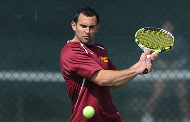 Tennis teams rebound after loss to Blue Jays; men defeat TCNJ, women take down Wilkes