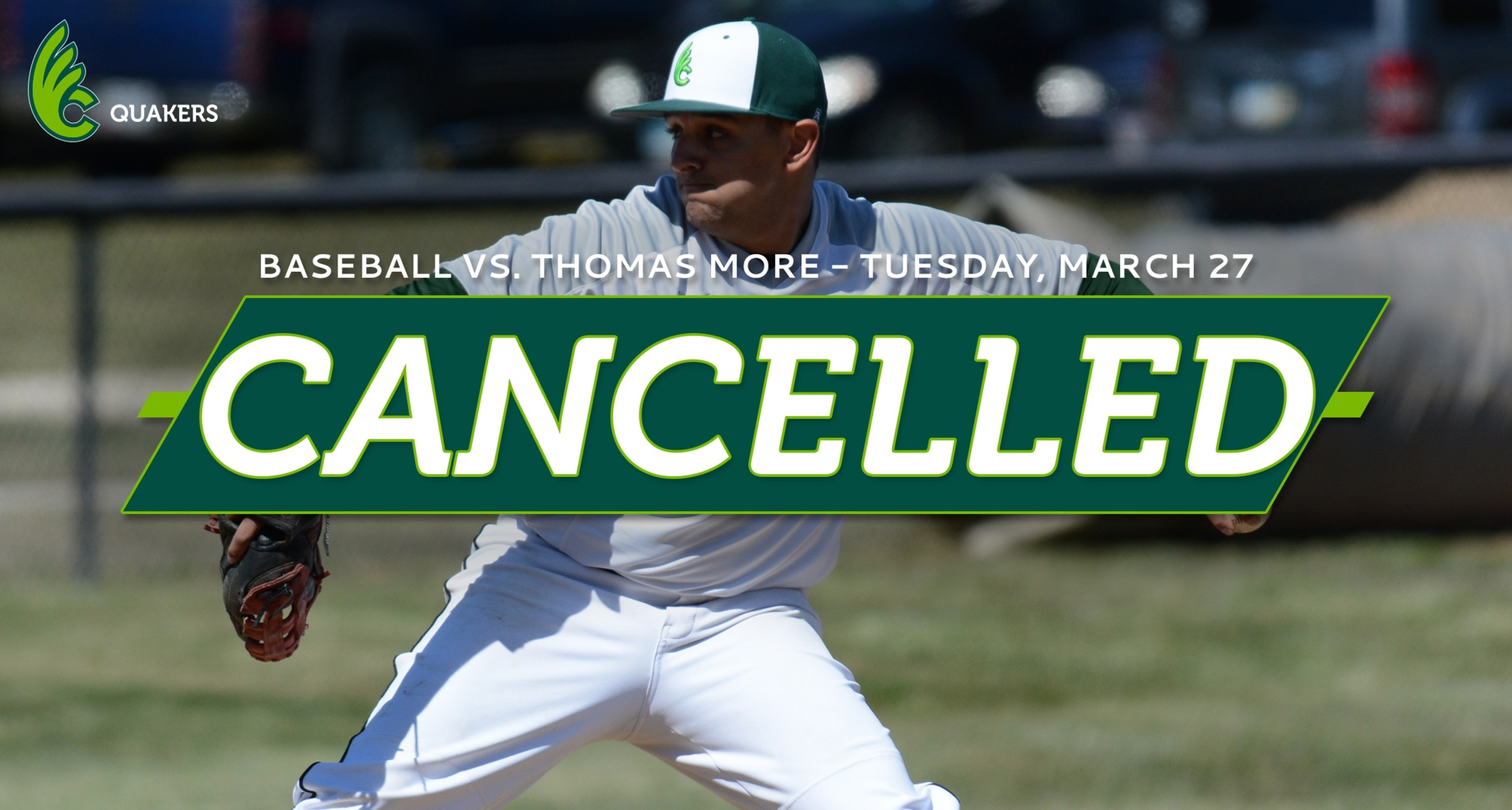 Baseball Game Versus Thomas More Cancelled