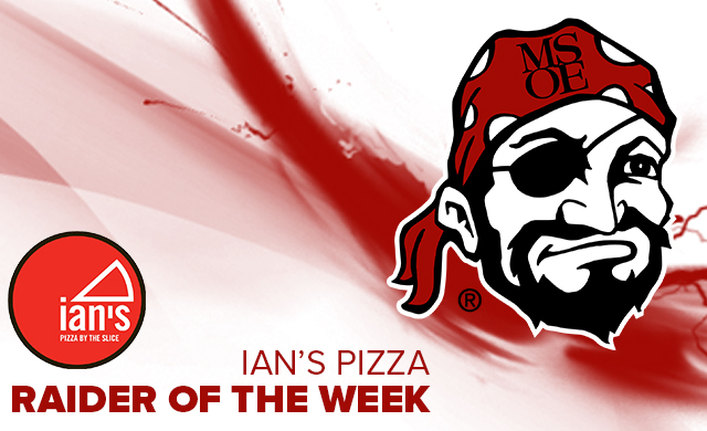 Reid Named Ian's Pizza Raider of the Week