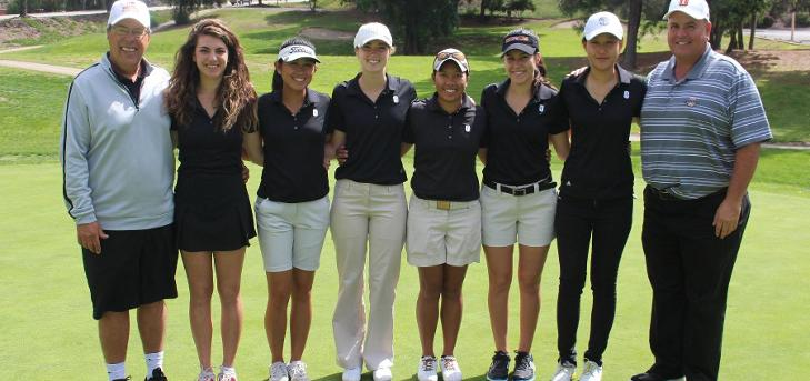 Oxy Women's Golf in 3rd at CLU Invitational