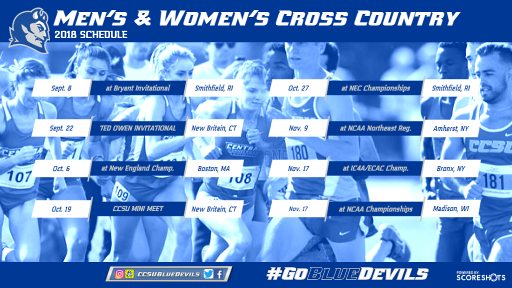 2018 Cross Country Schedule Announced