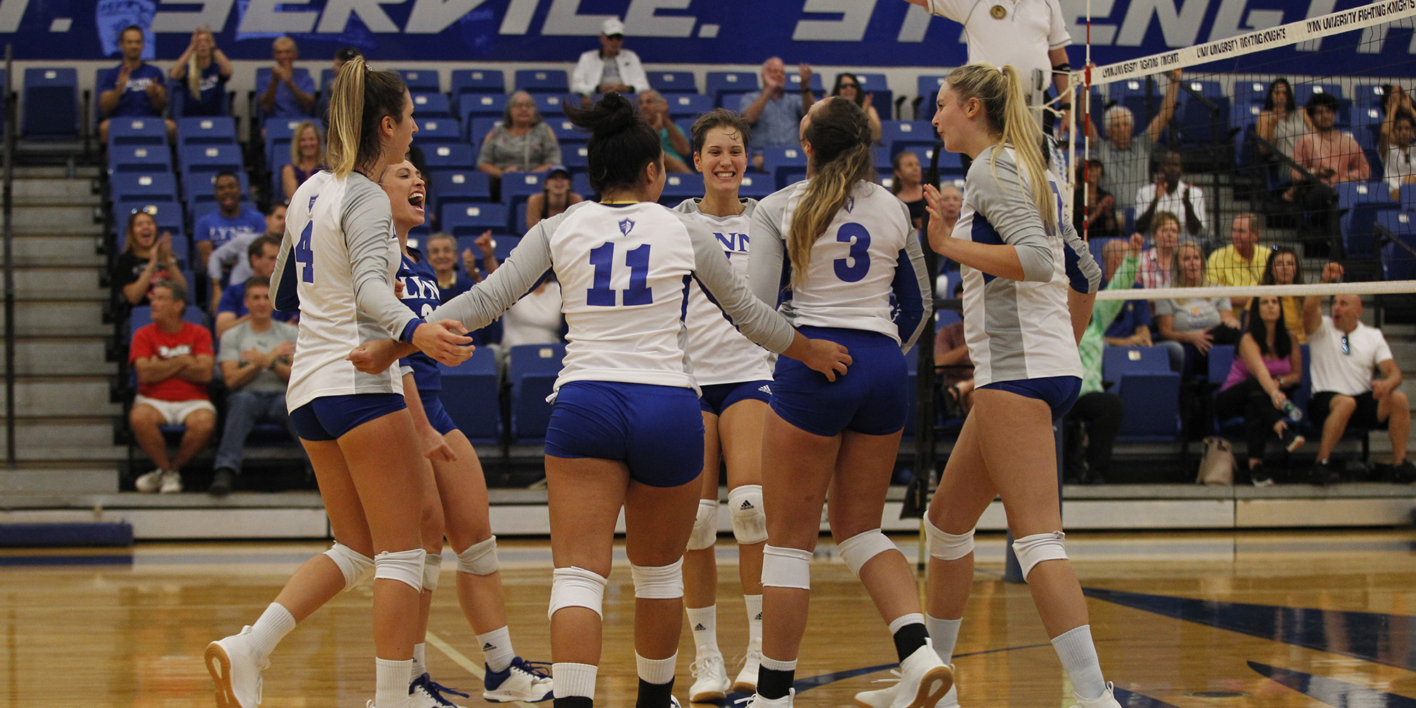 Volleyball Sweeps West Coast Trip