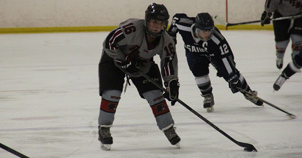 Baker Nets Pair as Women's Ice Hockey Stifles Manhattanville, 4-0