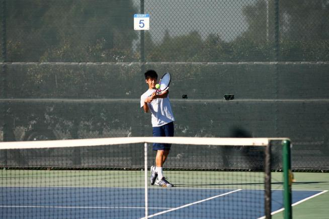 File Photo: The Falcons won five of six matches to defeat El Camino in a conference match
