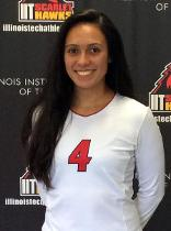 Walther awarded Association of Division III Independents women's volleyball Player of the Week