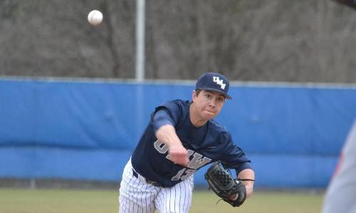 UMW Baseball Falls to Montclair State, 5-2, in Rain-Shortened Game
