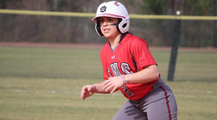 Softball Salvages Doubleheader Split at Elms Saturday