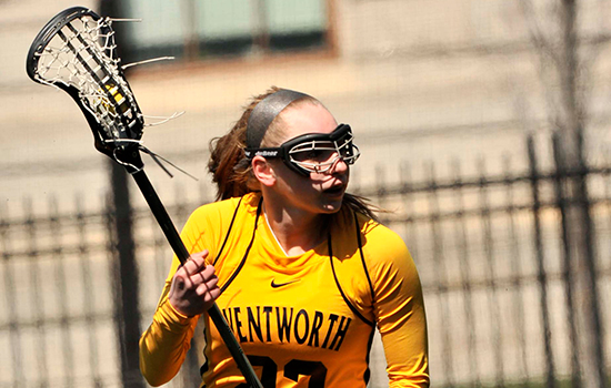 Women's Lacrosse Doubles up Elms
