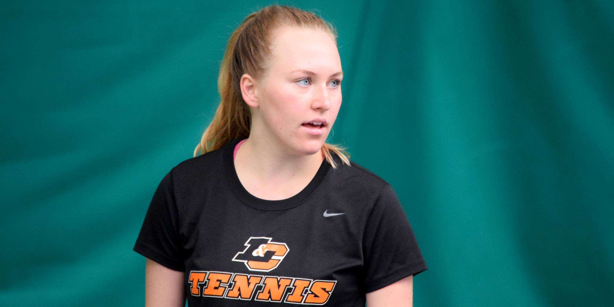 Plawska upsets No. 1 seed to win ITA Regional singles title