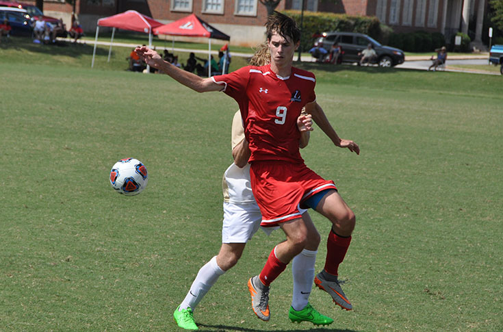 Men's Soccer: Panthers square off with Methodist in USA South match