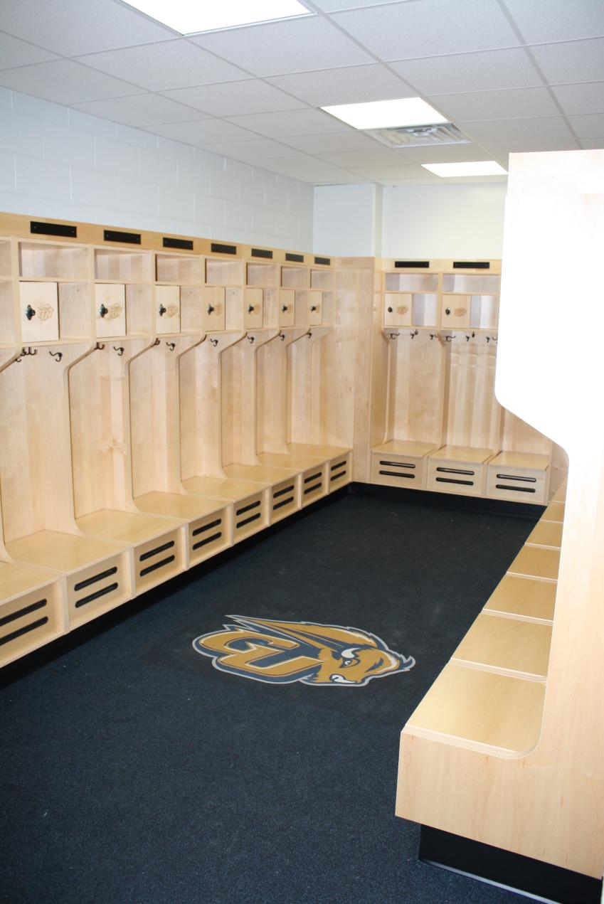 Gallaudet University Athletic Locker Rooms