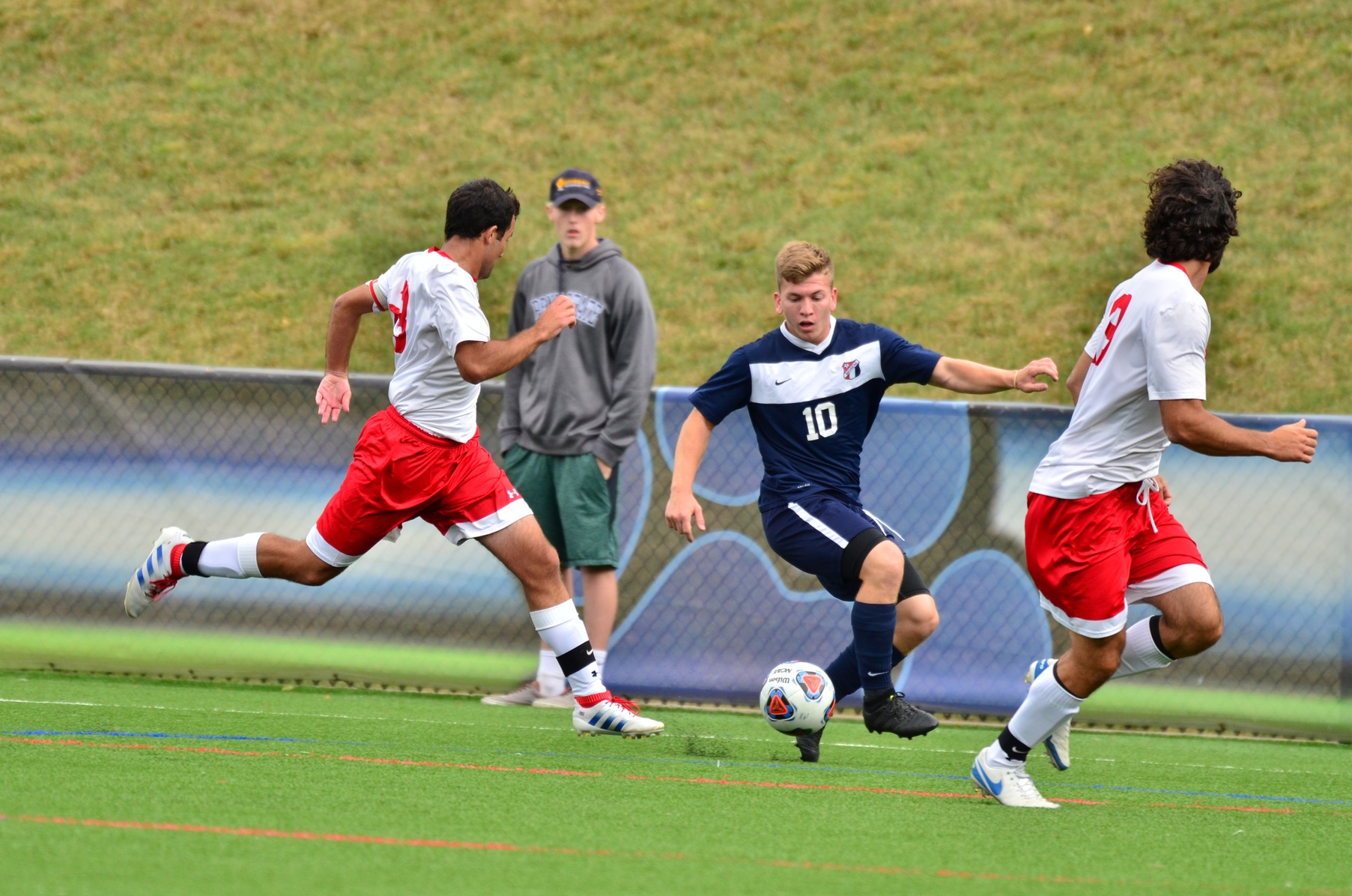 Bethany Converts PK to Defeat Behrend