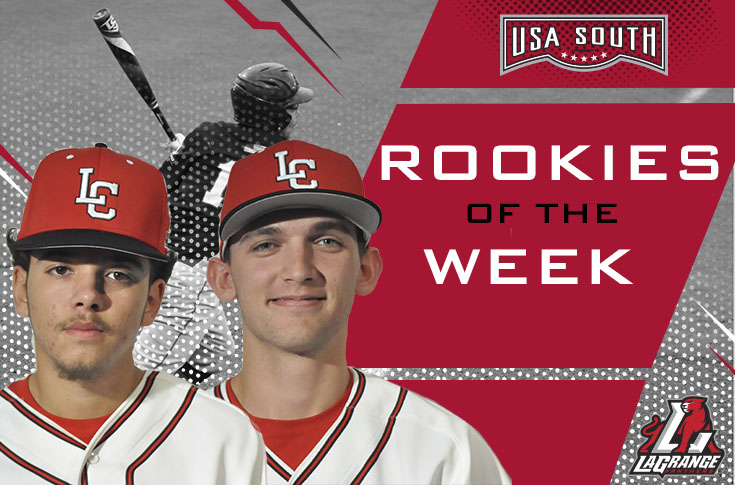 2018-19 in Review: Baseball sweeps USA South Rookie of the Week awards