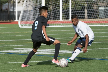 New York men's soccer team outlasted by Albany College of Pharmacy, falling to Panthers in penalty kicks in semifinals of HVIAC tournament