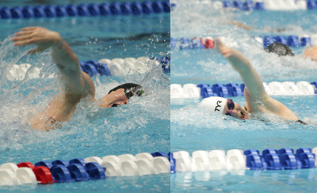 Oliver Smith, Fiona Muir Named UAA Swimmers of the Week