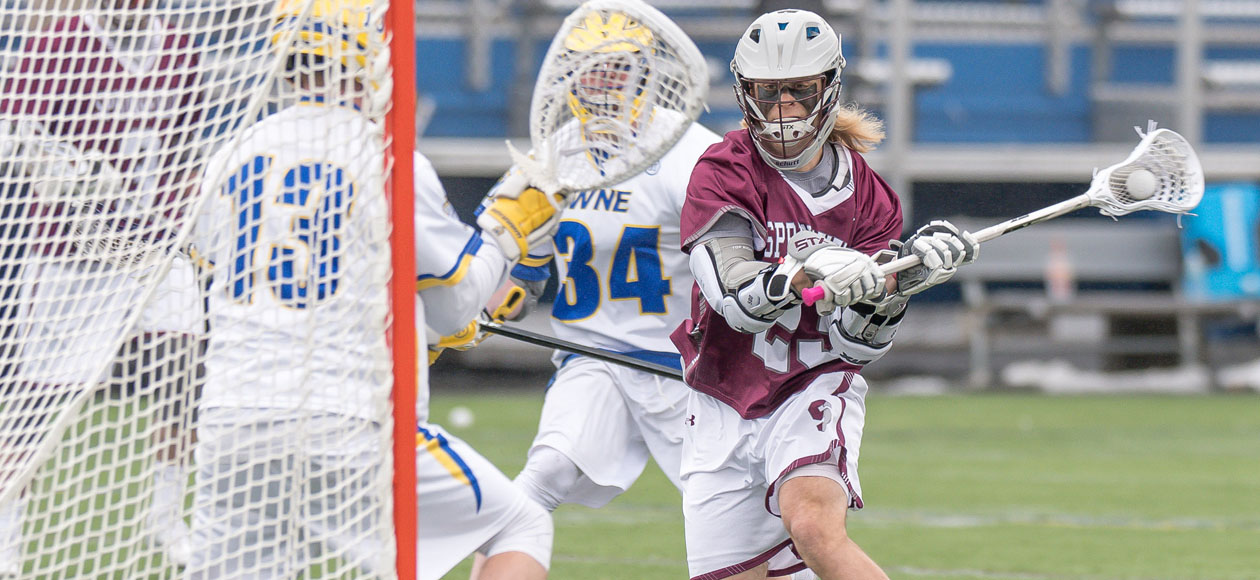 Men's Lacrosse Storms Past Western New England, 14-8