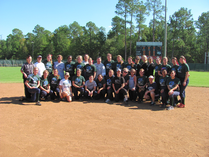 GC Softball Celebrates Alumni Day