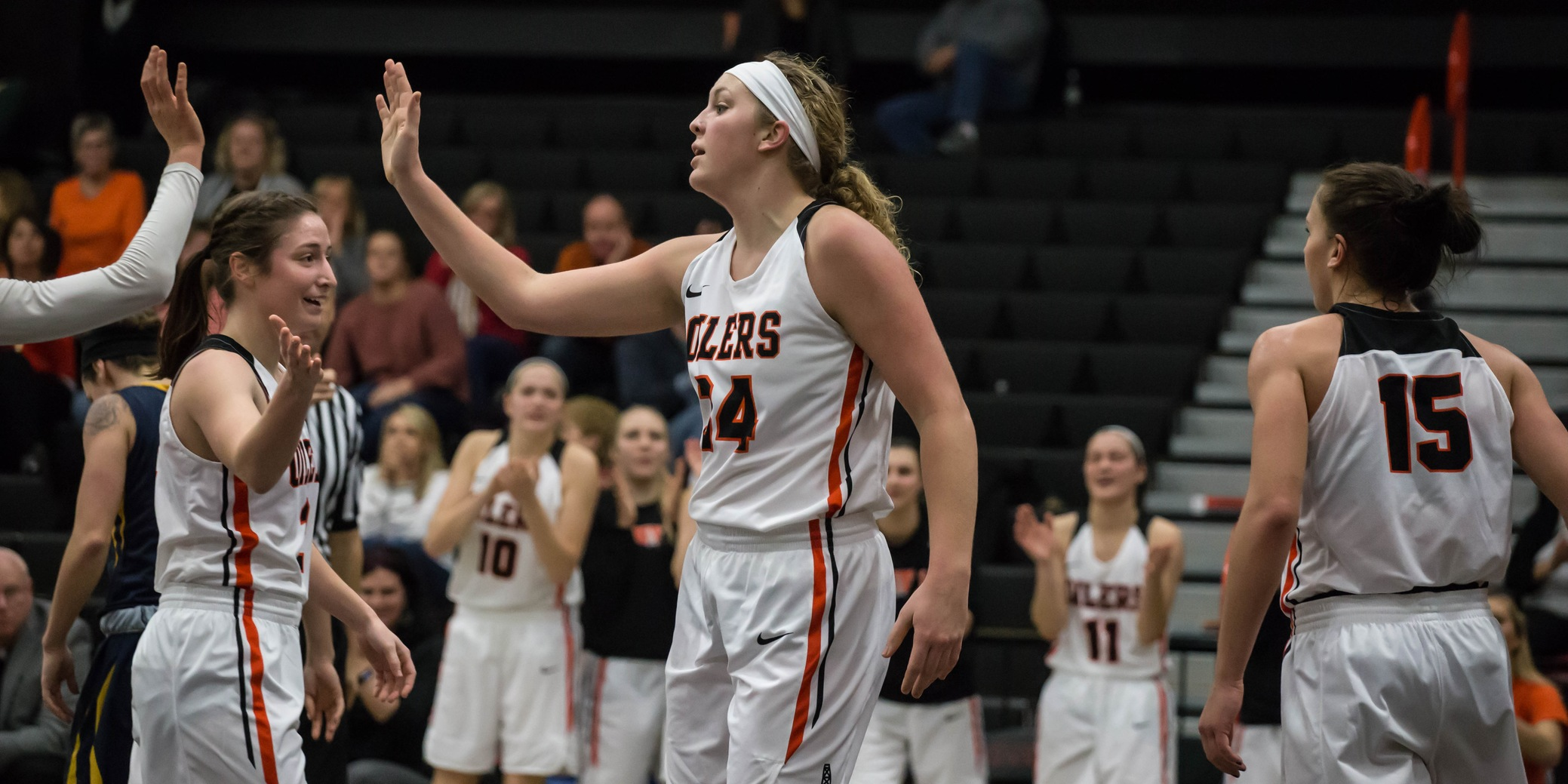 Findlay Takes Care of Business Against Fighting Scots