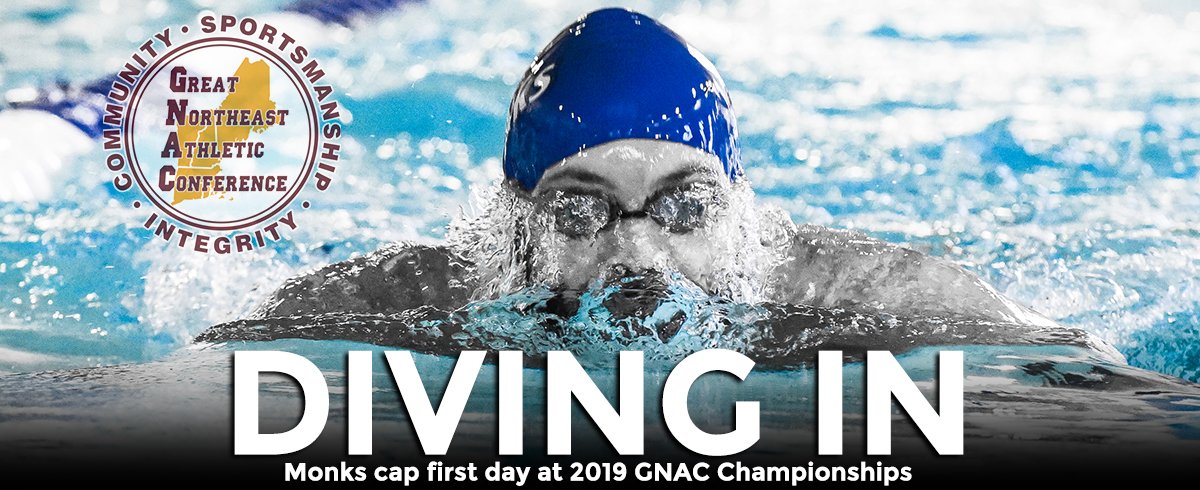 Men Fourth, Women Seventh Through Second Day of GNAC Championship