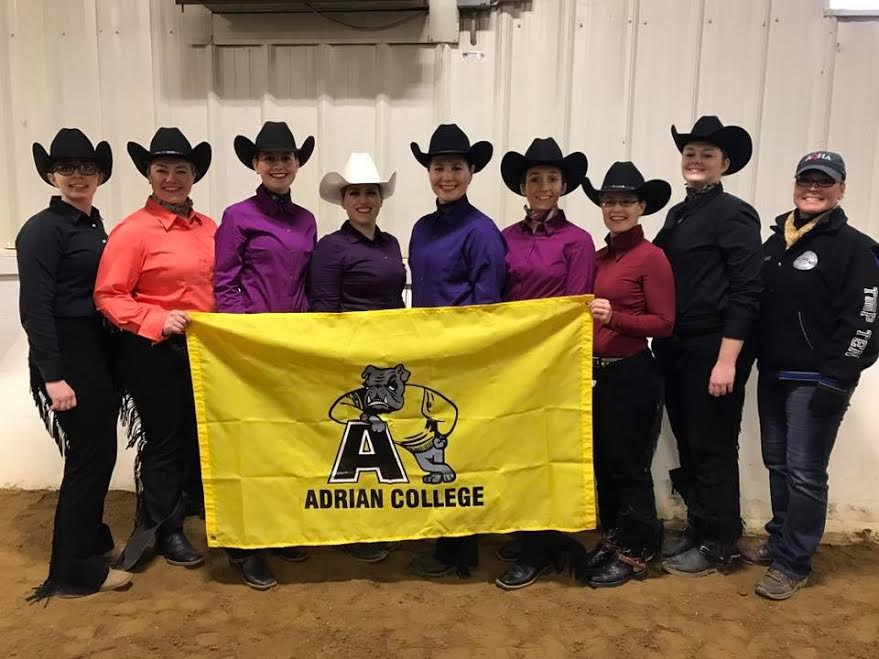 Equestrian Turns in Solid Performances in Final Regular Season Stock Show at Ferris State