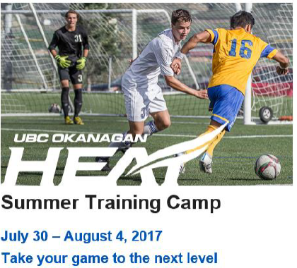men's high performance soccer camp UBCO
