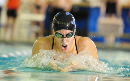 Marymount's Anna Macedonia Places 14th in 100 Backstroke at NCAA Championships