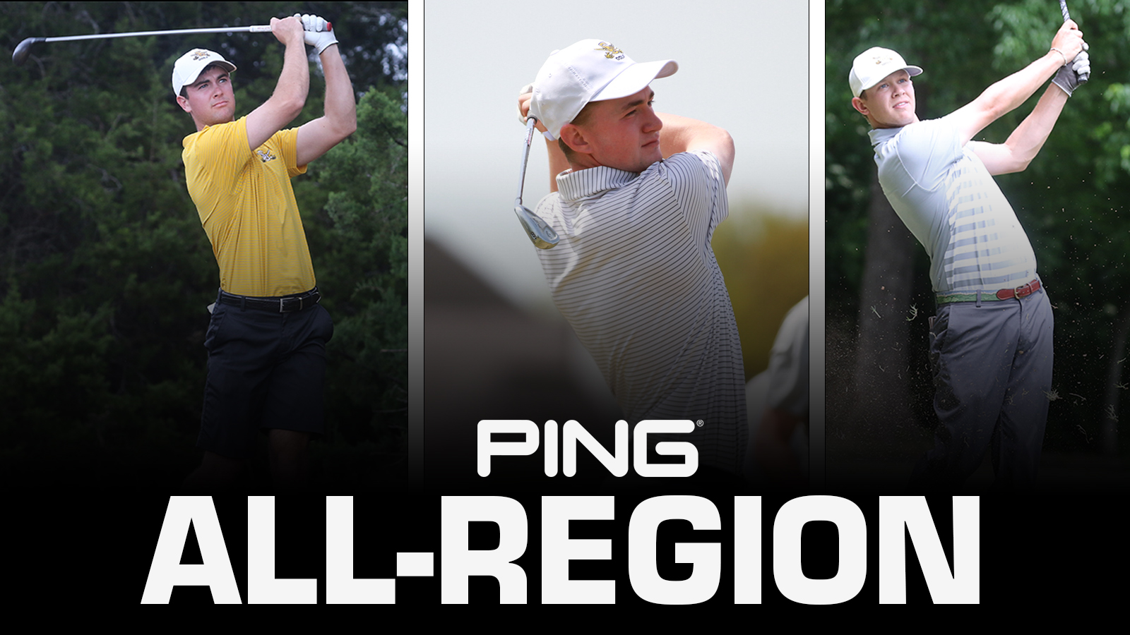 Three Pirates Named to the NCAA DIII PING All-Region Team