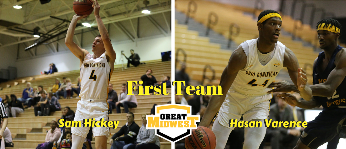 Varence and Hickey Earn First Team All-G-MAC Honors