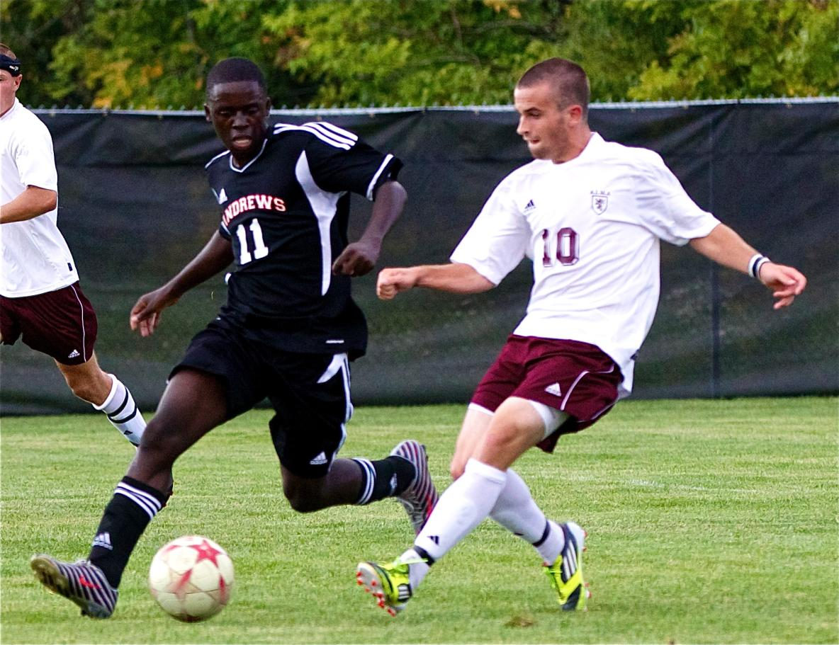 Alma Men's Soccer defeats Andrews University 4-0 on Thursday afternoon