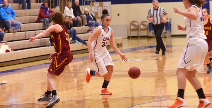 Women's Basketball blows by Rockford in dominating win