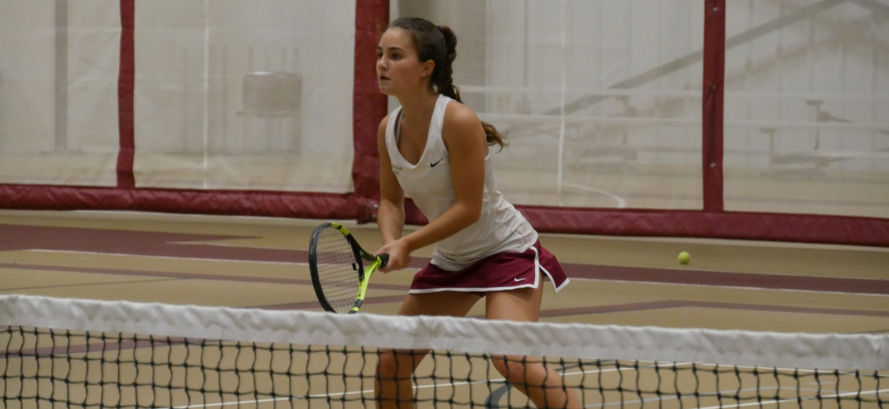 Women's Tennis Blanks Smith, 9-0, In NEWMAC Opener; Matches Best Start Since 1996