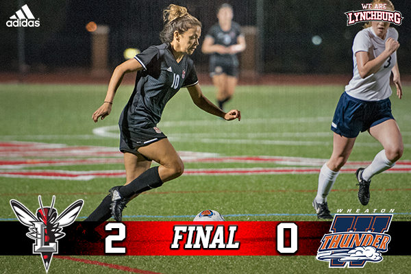 Sarah Hammock scored her third goal of the season in Saturday's win over Wheaton.