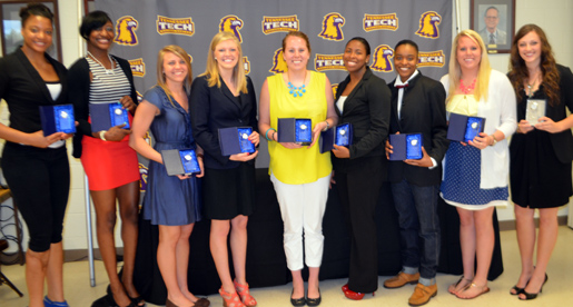 Nine Golden Eagles honored at annual Awards Dinner