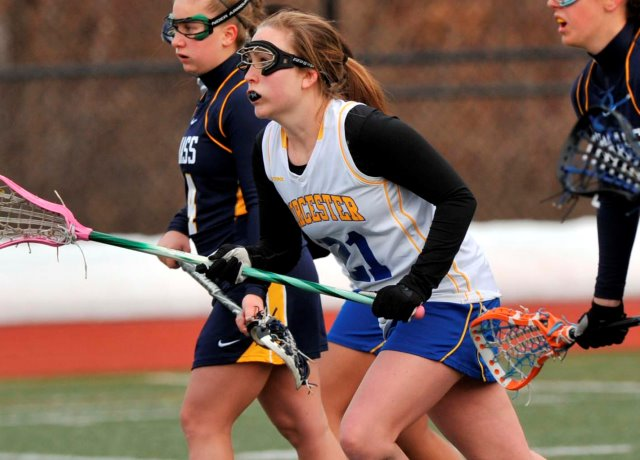 Women's Lacrosse Edges Westfield State, 12-9, In MASCAC Semifinals