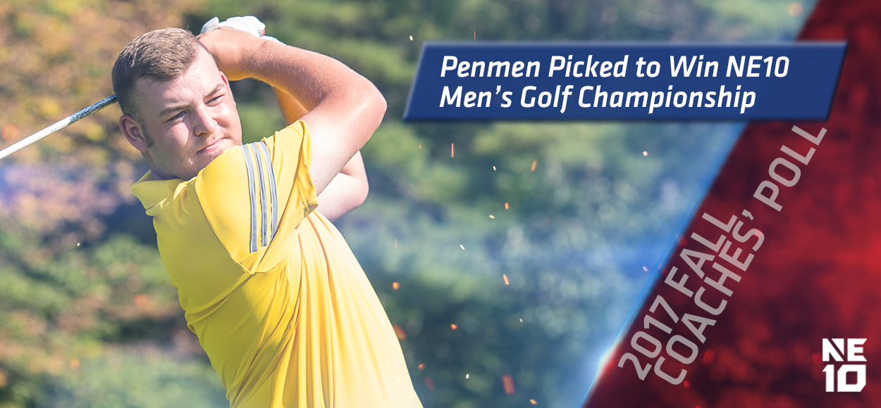 Southern New Hampshire Tabbed to Win NE10 Men's Golf Title