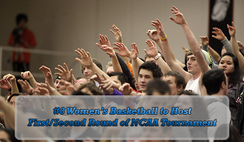 #8 Women's Basketball Earns NCAA At-Large Bid to NCAA Tournament