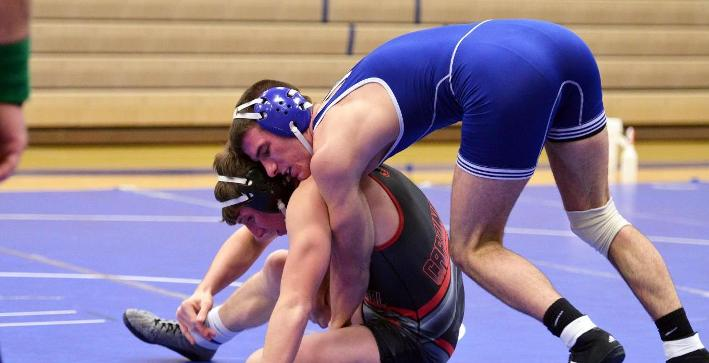Wrestling wins pair of duals at Whitewater Border Brawl