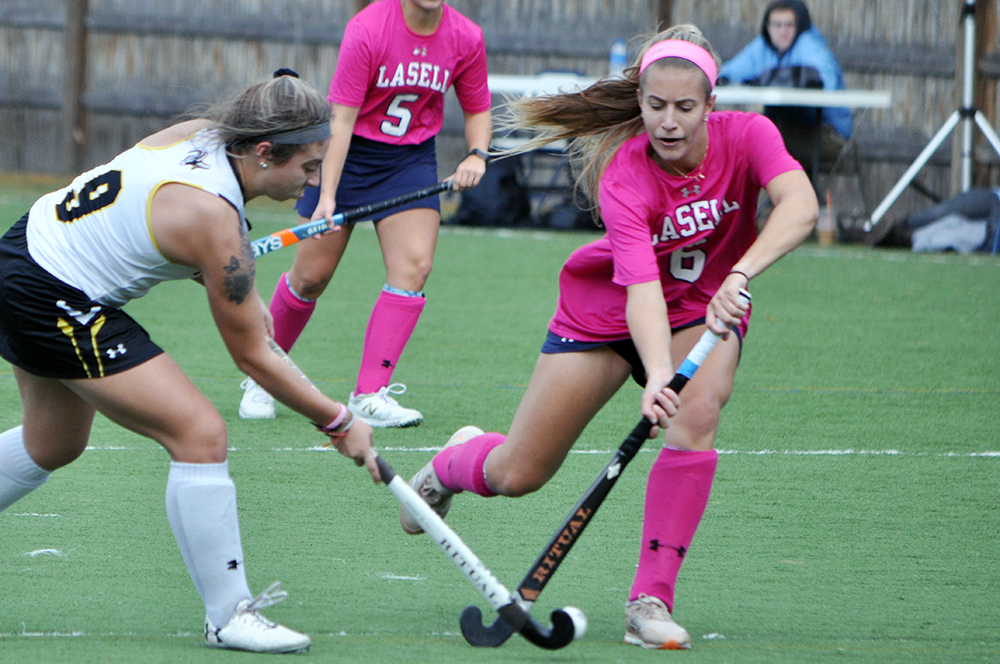 Lasell Field Hockey rolls past Framingham State