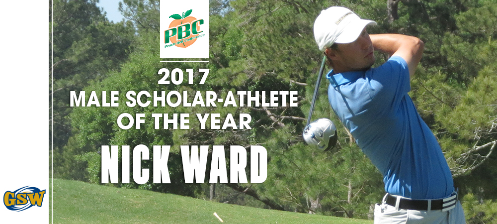 Ward Named Peach Belt Conference Scholar-Athlete Of The Year