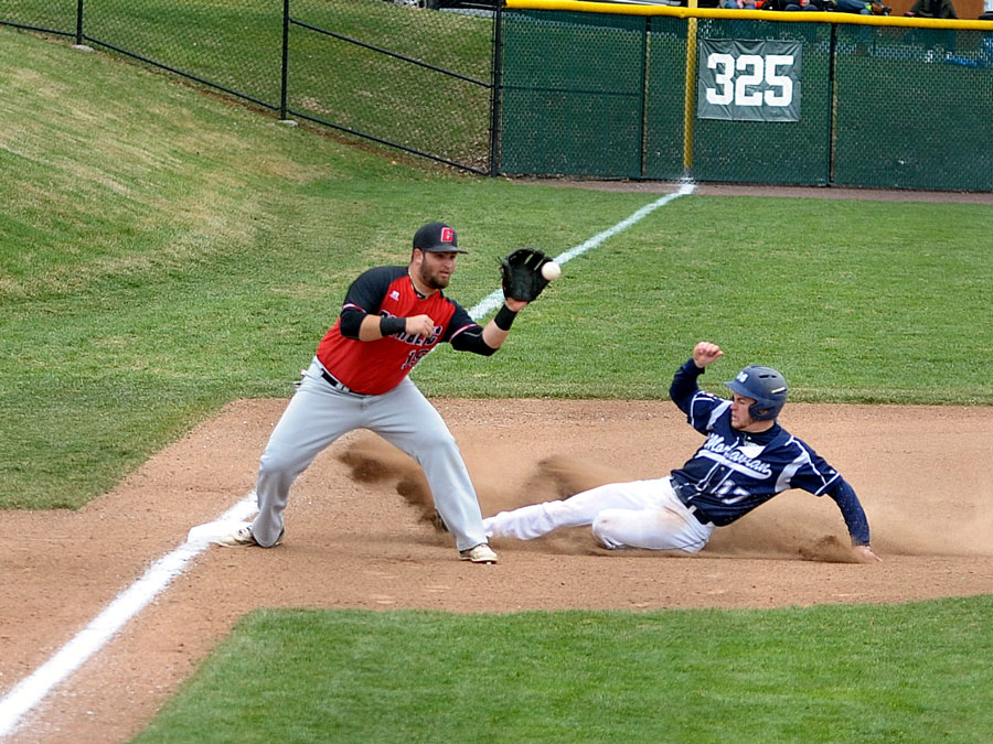Cardinals Swept by Greyhounds, Fall, 5-3, in Game Three