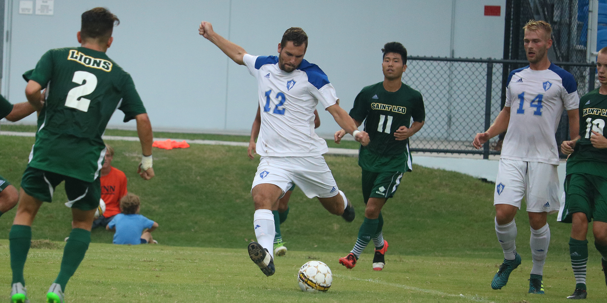 Strohmaier Puts Men's Soccer Back on Winning Track