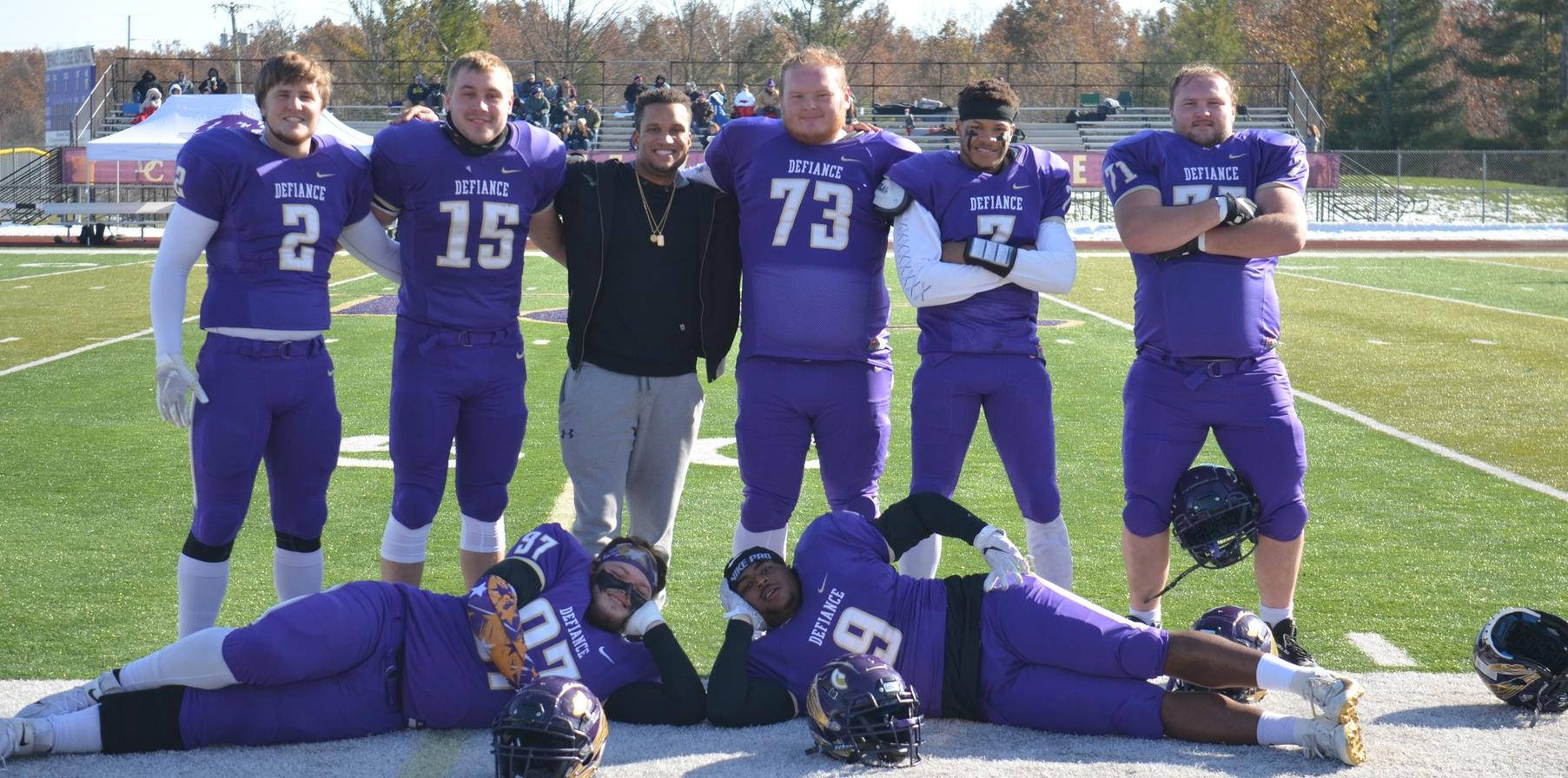 The Hammer returns to Defiance as football celebrates a Senior Day victory