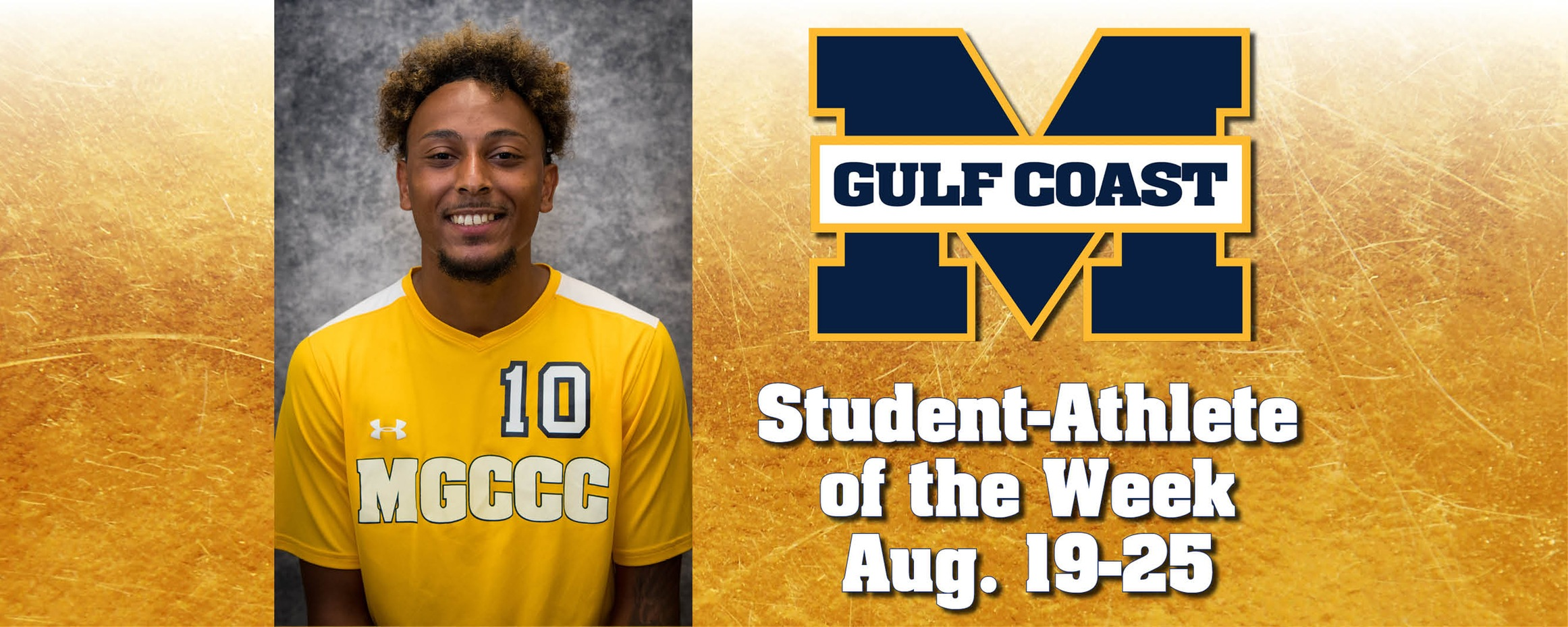 Redmond wins MGCCC Student-Athlete of the Week