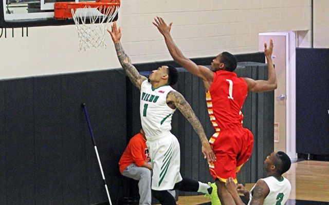 Chestnut Hill Sinks Wilmington Men's Basketball, 81-69, in CACC South Division Bout