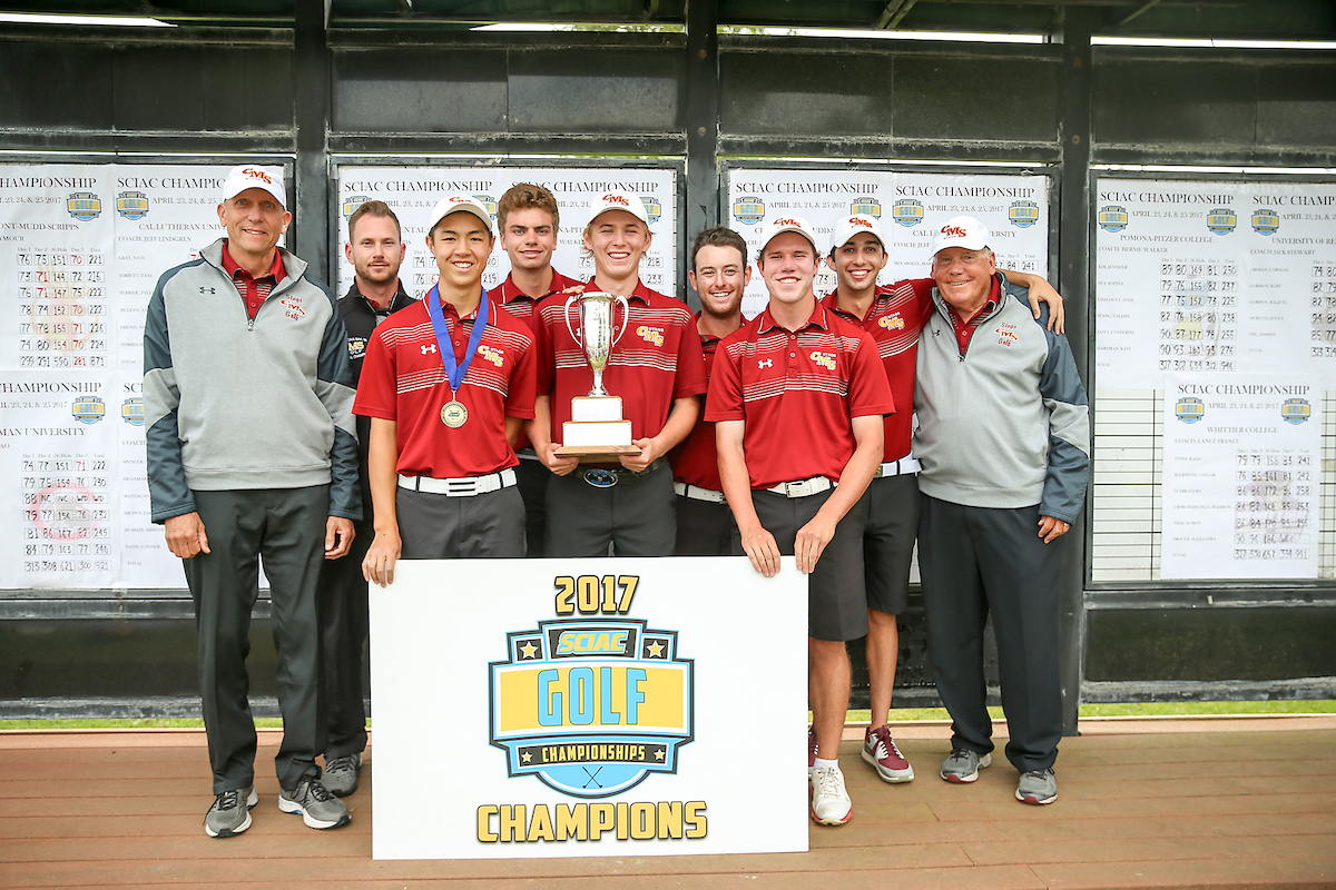 Stags Rally to Win 2017 Men's Golf SCIAC Championship