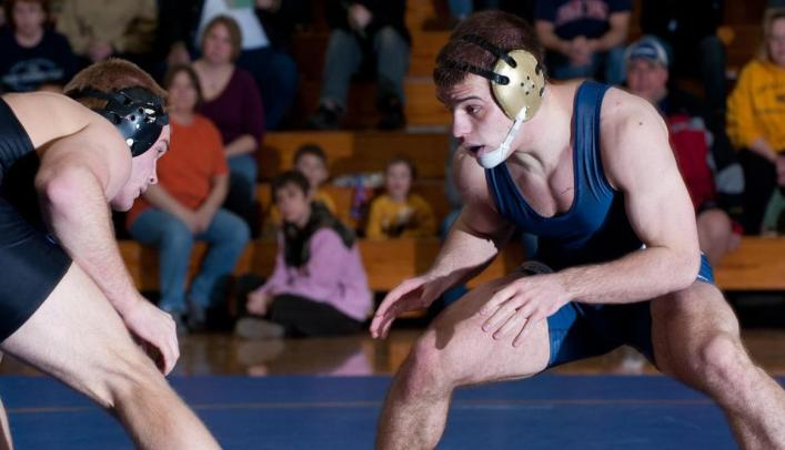 Wrestling Drops WIAC Opener at Nationally-Ranked UW-Stevens Point