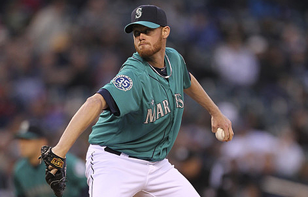 AP: Furbush contributes in Mariners' no-hitter against Dodgers