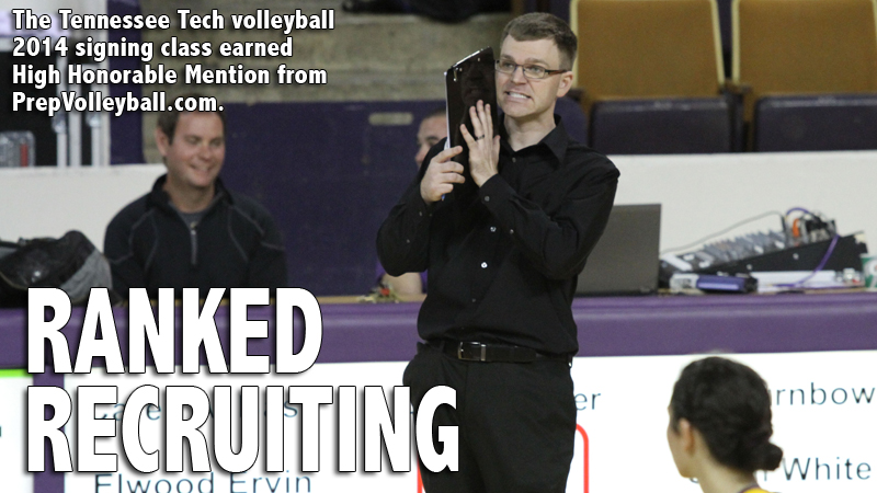 Tennessee Tech volleyball recruiting class earns national attention