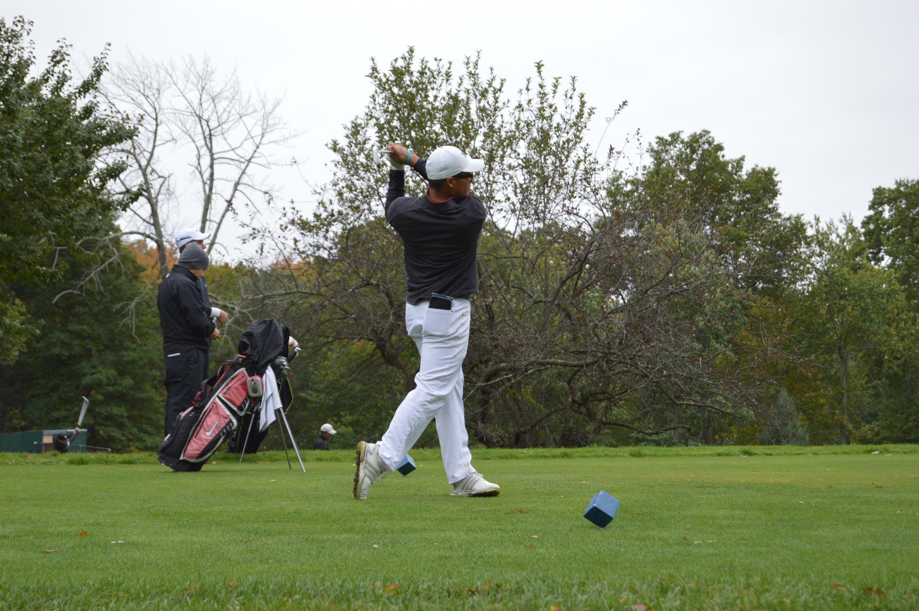 GOLF TAKES SECOND IN CHARGER CHALLENGE