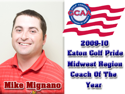 Mike Mignano Earns Regional Coach of the Year Honors